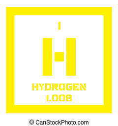 Hydrogen chemical element periodic table science symbol hydrogen chemical element urtaz Choice Image