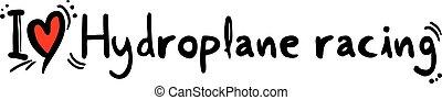 hydroplane wedrennen, loveathletic;, spo