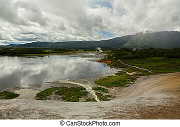 Hydrothermal field in the Uzon Caldera. Kronotsky Nature ...