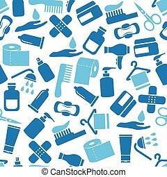 hygiene seamless pattern