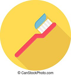 hygiene vector flat color icon