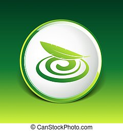 Hygienic cream, top view vector illustration Cream icon
