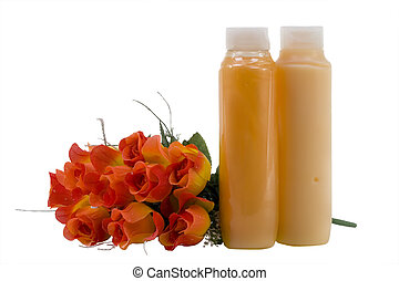 Hygienic Supplies With Artificial Flowers