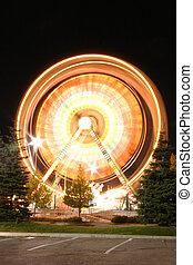 Hyper-spin Ferris Wheel