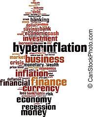 hyperinflation, 単語, 雲
