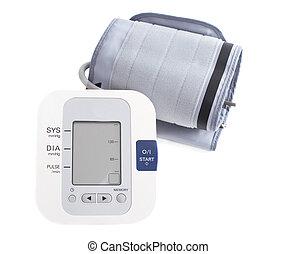 Hypertension digital blood pressure monitor - Tonometer. Stock I
