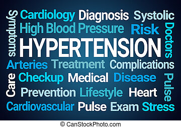 hypertension, mot, nuage