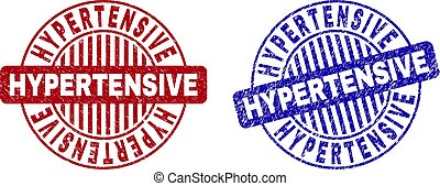 hypertensive, filigrane, grunge, rotondo, textured