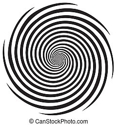 hypnose, spiral formgiv, mønster