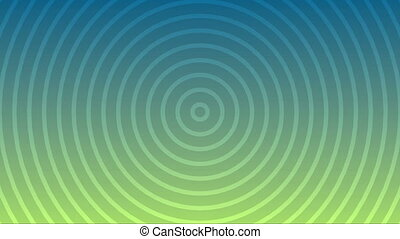 Seamless looping abstract hypnosis or tranquility therapy video background.