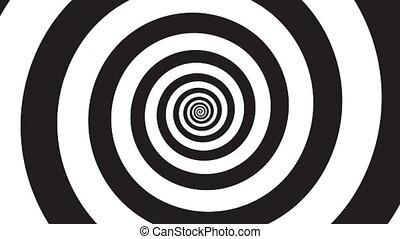 hypnosis visualisation spiral