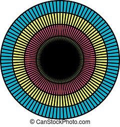 hypnothérapie, illusion optique