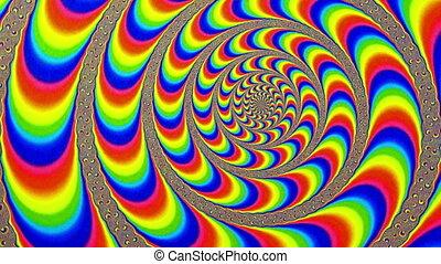 Hypnotic Maelstrom Swirling