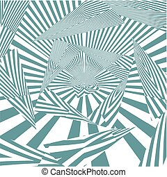 Hypnotic Ocean Green Stripe S...