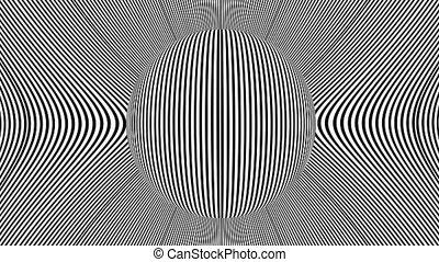 Hypnotic Rotation Planet