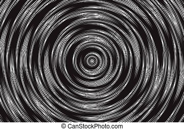 Hypnotic Spiral Vector Abstract Background