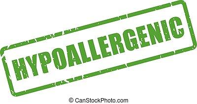 hypoallergenic, caoutchouc, rectangle, timbre