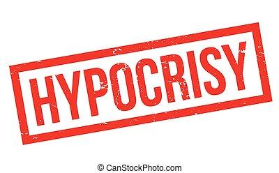 Hypocrisy rubber stamp