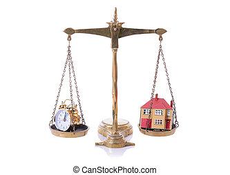 hypotéka, čas