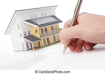 hypothèque, contrat