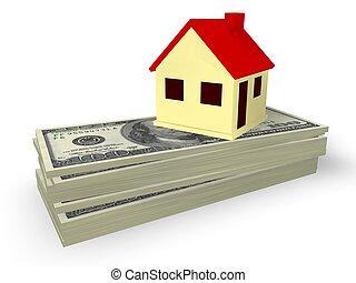 hypothèque, maison