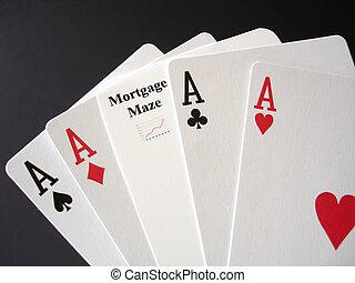 hypotheek, gokken