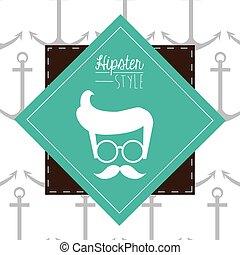 Hypster style design