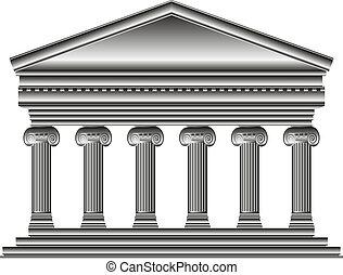 iónico, templo