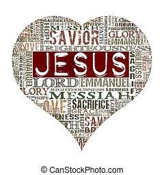 i, 愛, イエス・キリスト
