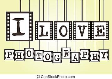 i, 愛, 写真撮影