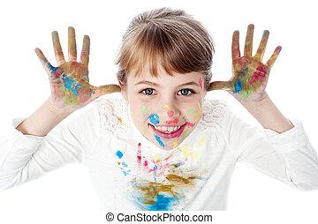 I am a painter !