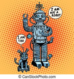 I am not a robot said dog future science fiction - I am not...