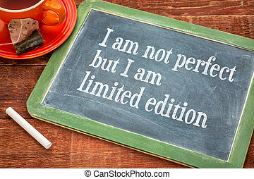 I am not perfect but limited edition - I am not perfect but...
