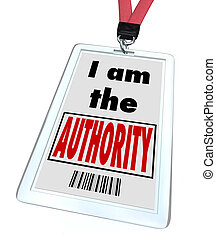 I am the Authority Badge Top Knowledge Expert - A badge and ...