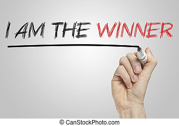 I am the winner