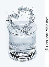 i, amor, água mineral