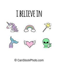 I believe in vector illustration graphic design
