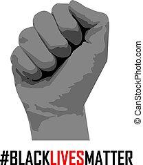 I Can't Breathe, Black Lives Matter.