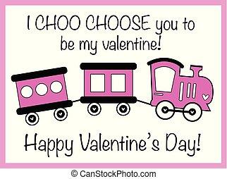 i, choo, escolher, tu, valentine