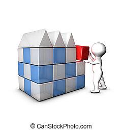 I create my company thanks to business plan, marketing plan...