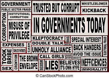 i dag, regeringer.