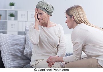I do not know if I can handle this - Depressed woman is ...