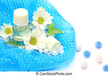 aromatherapy - I expressed aromatherapy with a flower and ...