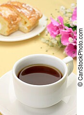 teatime - I expressed teatime with coffee and a...