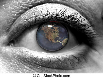 I Eye - An eye looking at the world.