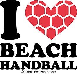 I heart Beach Handball