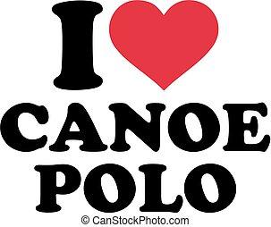 I heart canoe polo