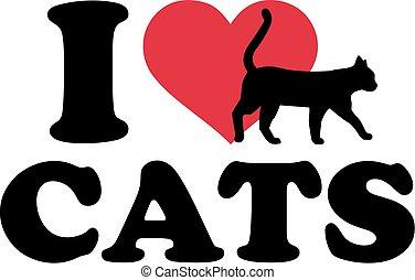 I heart cats
