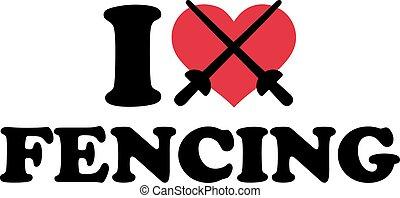I heart fencing