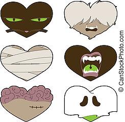 I Heart Halloween - An seasonal illustration celebrating ...